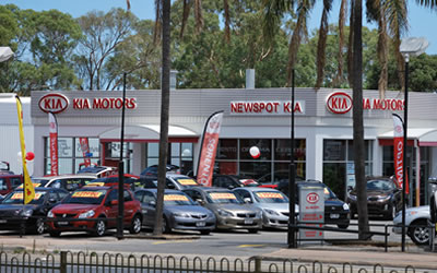 Newspot KIA Dealership